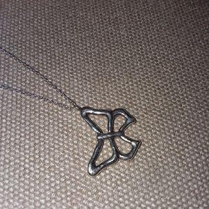 Silpada butterfly necklace